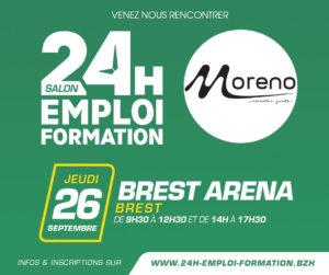 Salon 24h Emploi Formation BREST @ Brest Arena