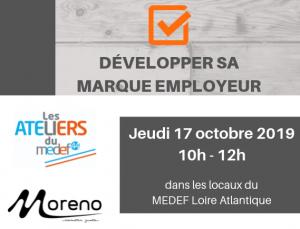 Atelier MEDEF 44 : Développer sa marque employeur @ MEDEF 44 - Loire Atlantique